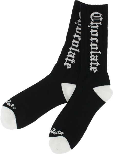 Choc Easy C Socks Blk/Wht Single Pair