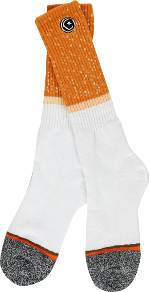 Found Cigarette Crew Socks 1Pr
