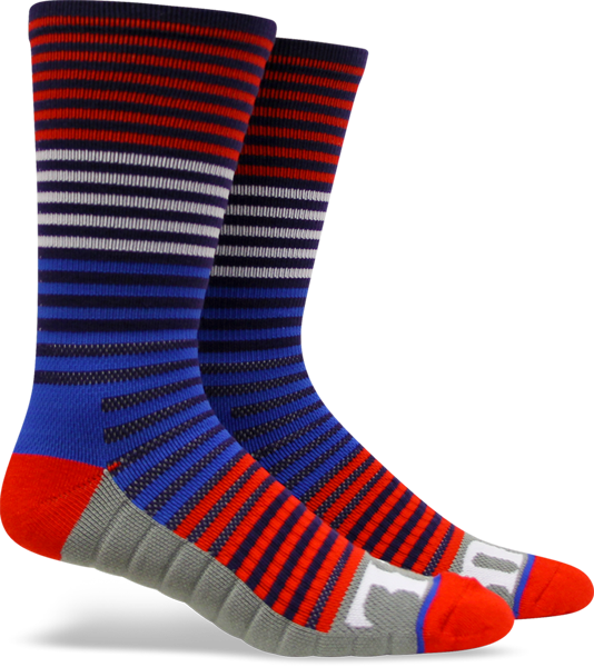 Fuel Yth Crew Tech Socks-Wired/Kick Ass