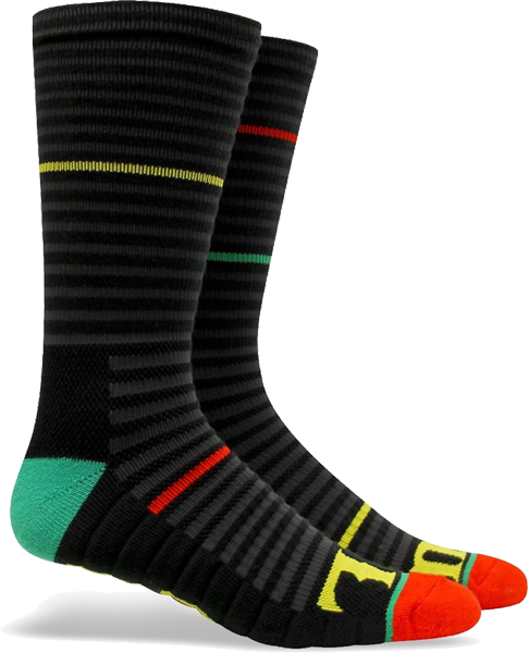 Fuel Crew Tech Socks-Circuit/One Love