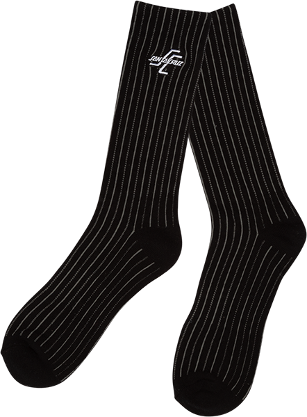 Sc Og Striped Crew Socks Black 1Pr