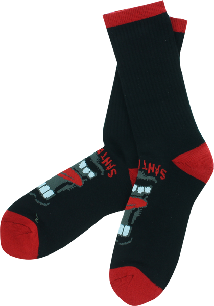 Sc Screaming Crew Socks Blk 2 Pair Bundle