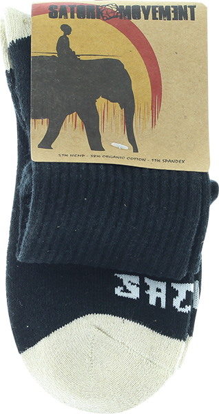 Satori Warrior Crew Sock Sm-Black