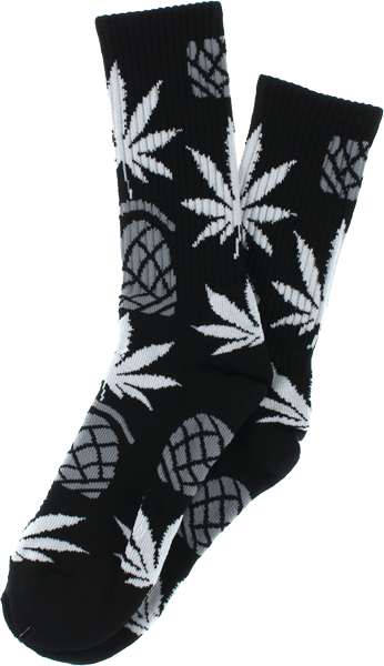 Thunder X Huf Crew Socks Blk/Grey/Wht1 Pair