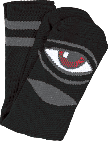 Tm Sect Eye Iii Crew Socks-Black 1 Pair