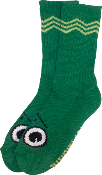 Tm Turtle Boy Crew Socks-Green 1 Pair