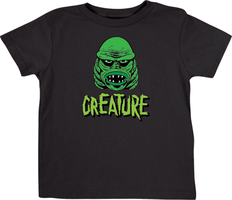 Creature Logo Toddler Tee 2T-Black