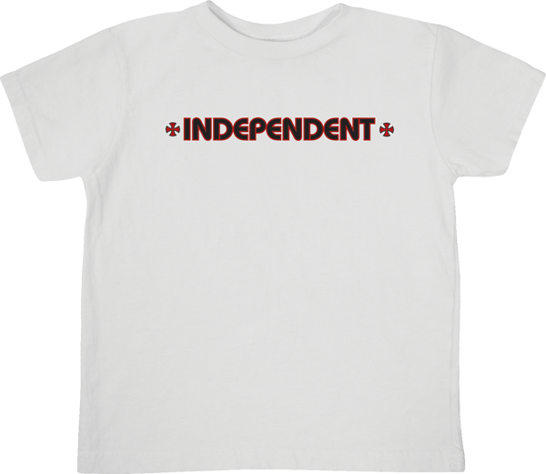 Inde Bar Cross Toddler Tee 2T-White