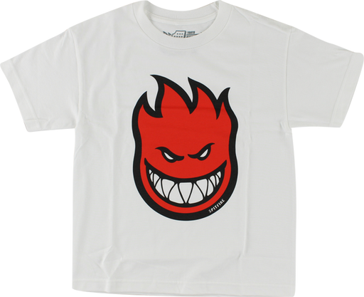 Sf Bighead Fill Yth-Ss L-Wht/Red