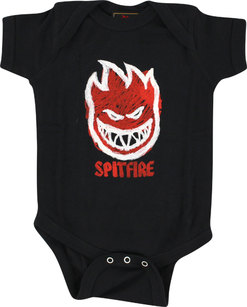 Sf Fire Color Baby Ss 12M-Black