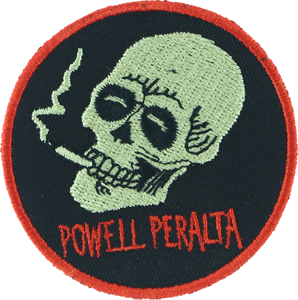 Pwl/P Smoking Skull Patch