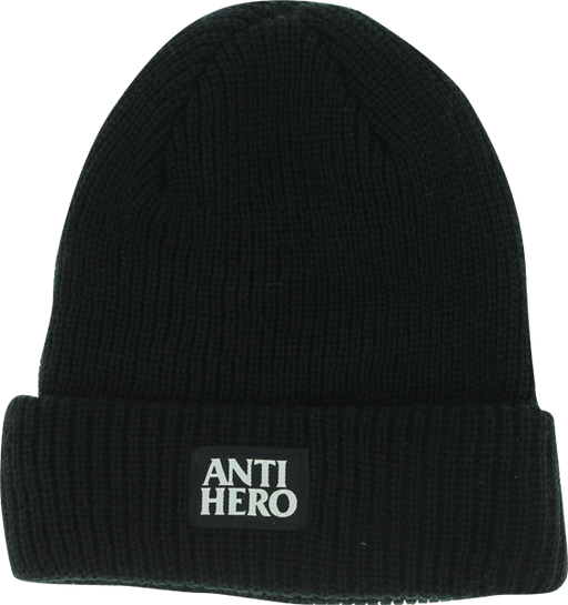 Ah Black Hero Cuff Beanie Black