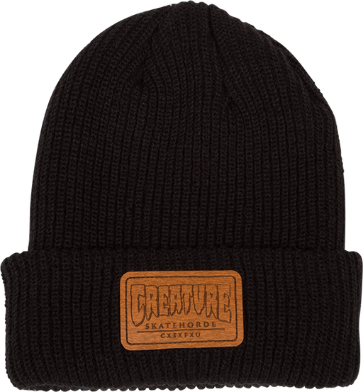 Creature Horde Patch Beanie Black