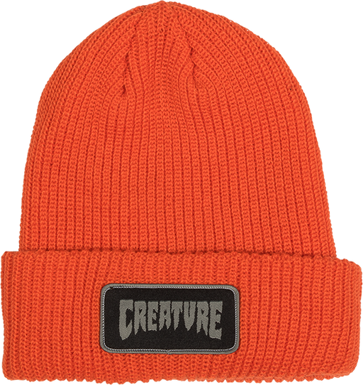 Creature Patch Beanie Orange