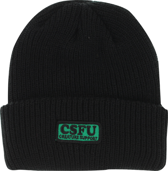 Creature Support Patch  Beanie Black