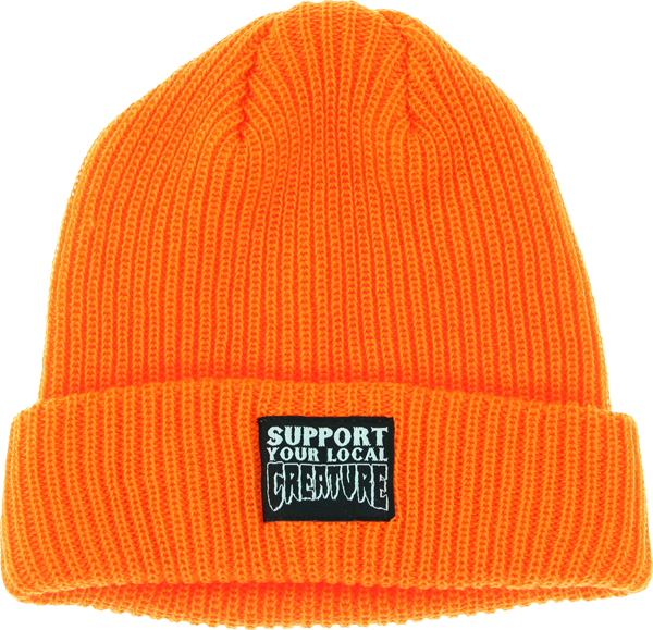 Creature Support Patch  Safety Orange