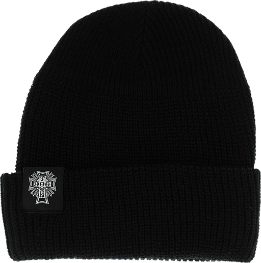 Dogtown Cross Logo Beanie Black