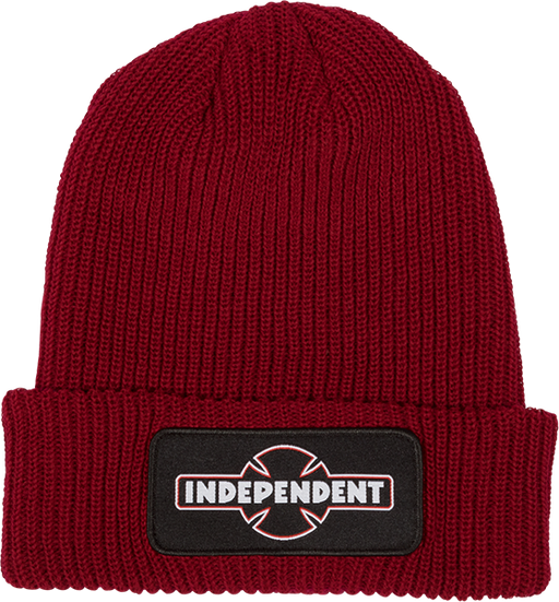 Inde Dual Pineline Ogbc Beanie Ruby