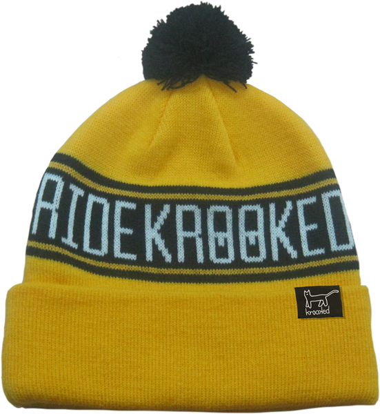 Krk Get It Str8 Beanie Yel