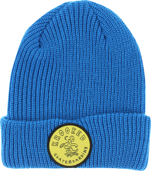 Krk Patch Cuff Beanie Royal