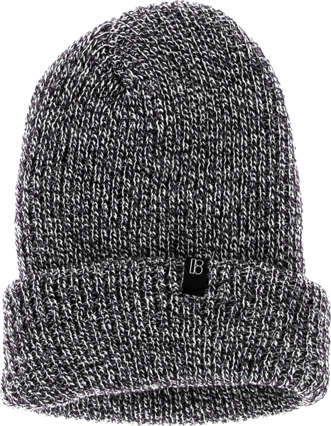 Plan B Clip Beanie Navy Heather