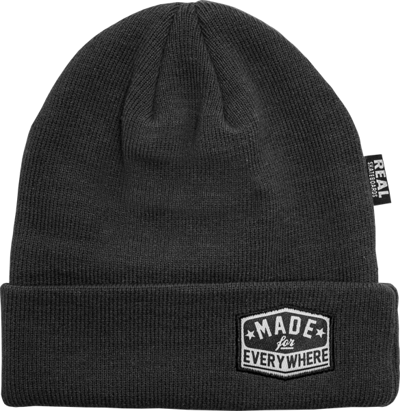 Real Everywhere Beanie Charcoal
