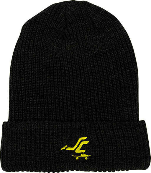 Sc Pusher Beanie Black/Yel