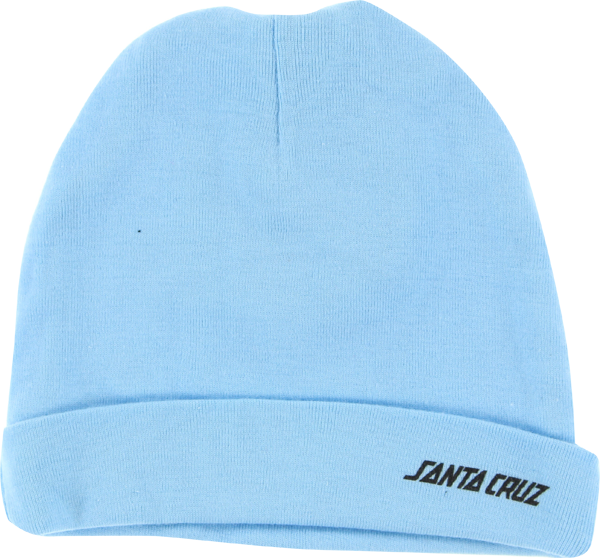 Sc Rib Knit Infant Beanie Lt.Blue