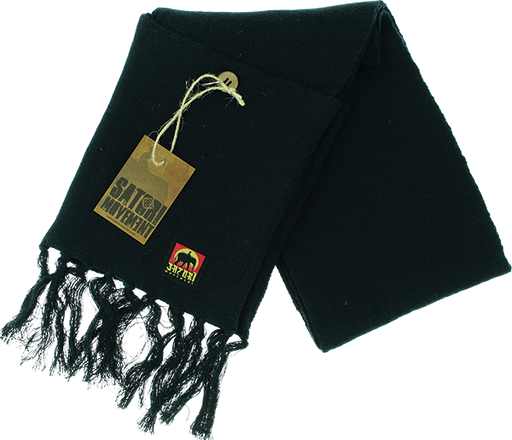 Satori Pocket Scarf Black