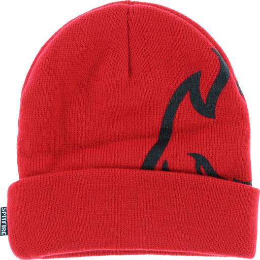 Sf Biggerhead Cuff Beanie Red/Blk