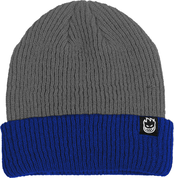 Sf Double Fire Beanie Grey/Blue