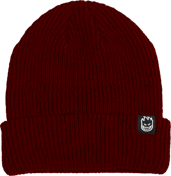 Sf Scorch Cuff Beanie Burgundy