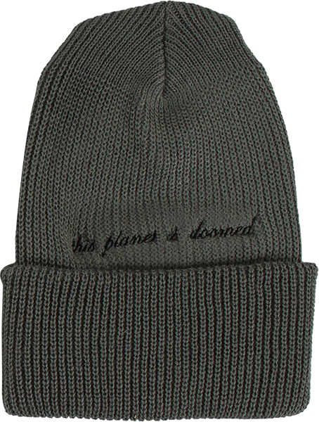 Tkf Other Worlds Beanie Ash