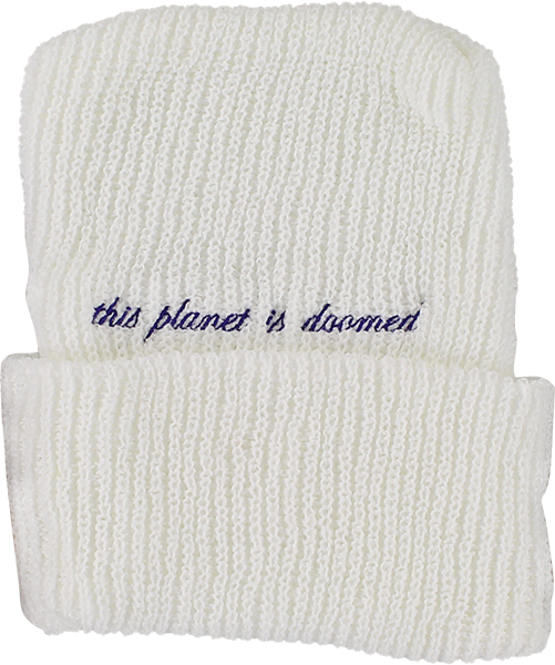 Tkf Other Worlds Beanie White