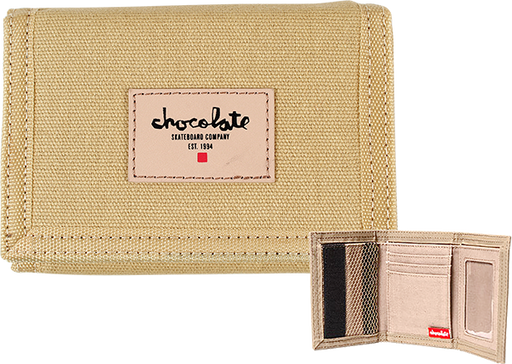 Chocolate Chunk Est Wallet Khaki