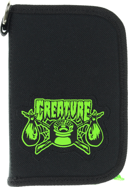 Creature Transient Luggage Pouch Black
