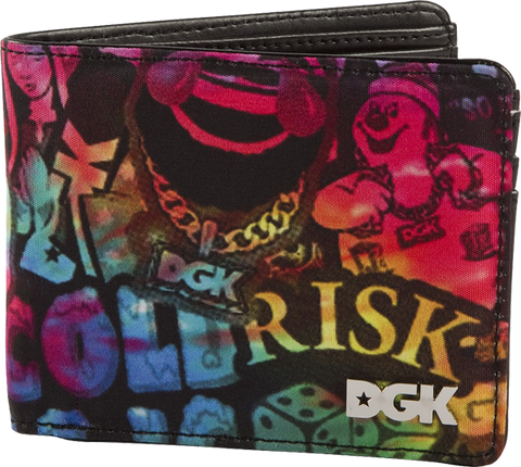 Dgk Collage Wallet Blk/Asst
