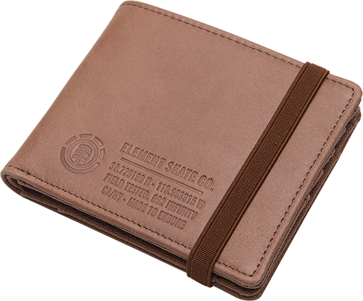 Ele Endure Leather Wallet Brown
