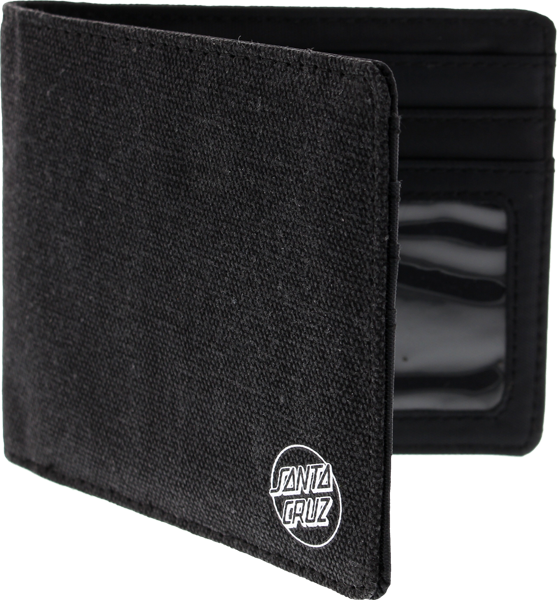 Sc Basic Dot Bi-Fold Wallet Black