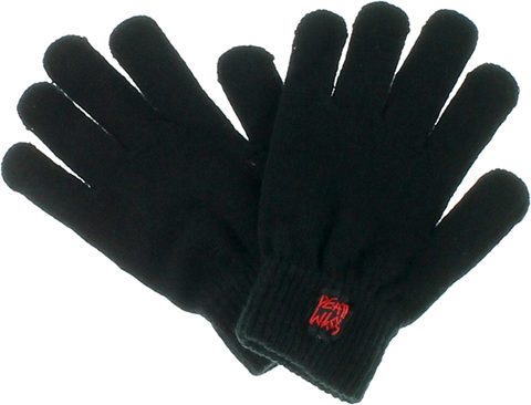 Dw Gang Logo Gloves Black