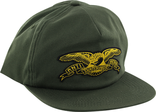 Ah Basic Eagle Hat Adj-Olive/Yel