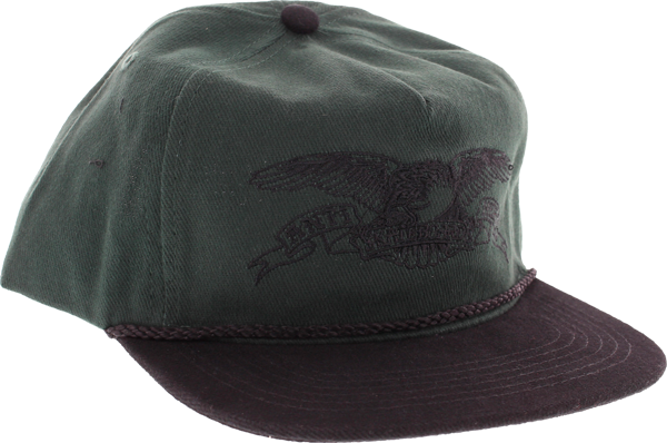Ah Basic Eagle Hat Adj-Dark Green