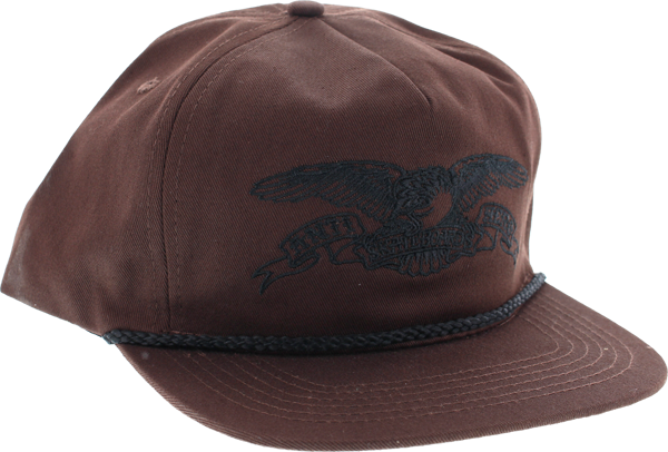 Ah Basic Eagle Hat Adj-Dark Brown