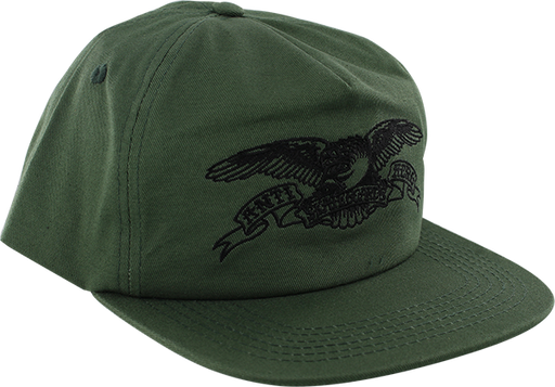 Ah Basic Eagle Hat Adj-Green/Blk