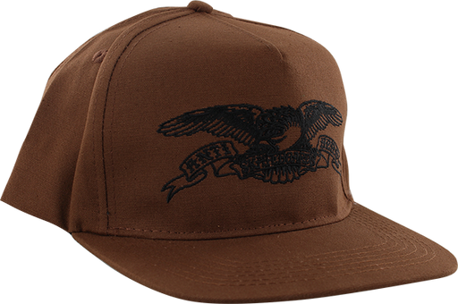 Ah Basic Eagle Hat Adj-Brown/Blk