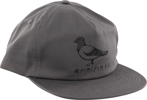 Ah Basic Pigeon Hat Adj-Grey
