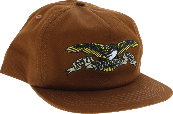 Ah Eagle Unstructured Hat Adj-Rust