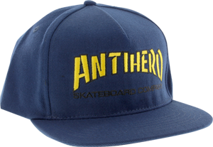 Ah Skate Co. Hat Adj-Navy/Yel