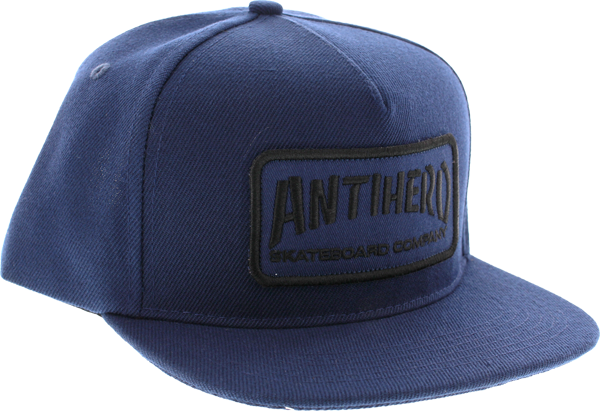 Ah Skate Co. Patch Hat Adj-Navy/Blk