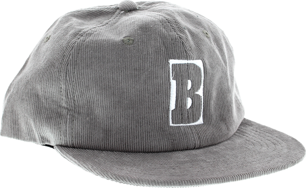 Baker Capital B Hat Adj-Grey